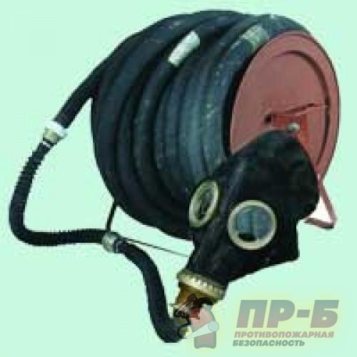 Противогаз шланговый ПШ-40 ЭРВ (электроручная воздуходувка) - Шланговые противогазы