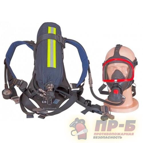 Аппарат дыхательный на сжатом воздухе ПТС Базис маска Panorama Nova Standart- Дыхательные аппараты для пожарных