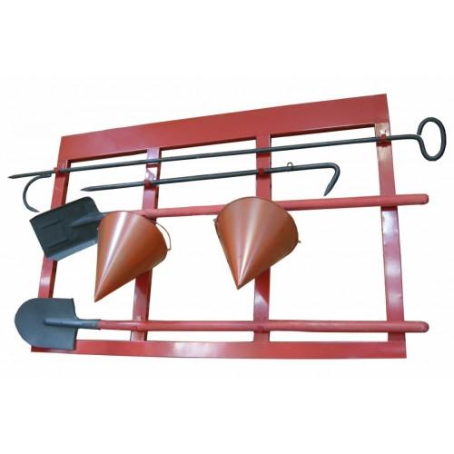 Пожарный щит каркасный, открытого типа (комплект) - Щиты пожарные