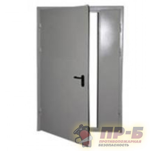 Дверь ДПМ-02/60 левая 1500х2100 - Двери противопожарные