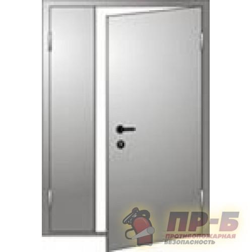 Дверь ДПМ-02/60 правая 1400х2100 - Двери противопожарные