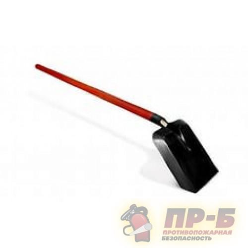 Лопата совковая для пожарного щита - Комплектующие к пожарным стендам и щитам