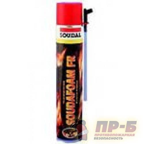 Пена монтажная огнестойкая пистолетная Soudafoam 1K FR (750 мл) - Двери противопожарные однопольные