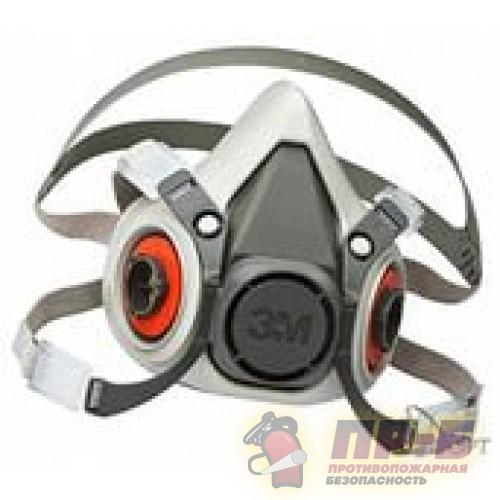 Полумаска 3М 6300 - Маски и полумаски