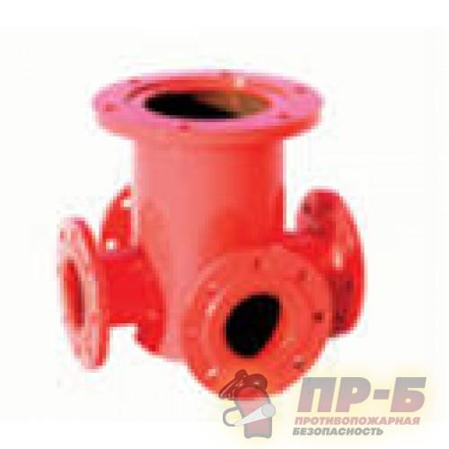 Пожарная подставка фланцевая односторонняя (ППФО) - Подставки под гидрант