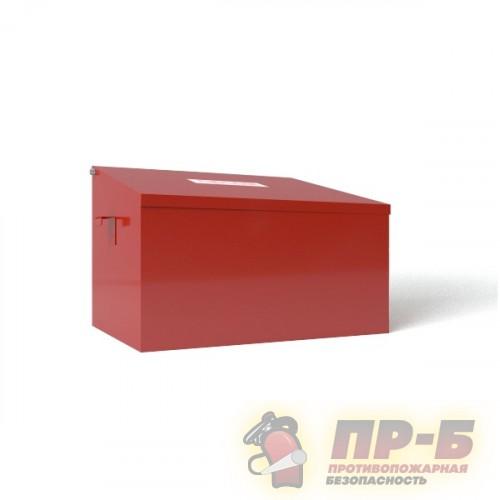 Пожарный ящик для песка объёмом 0.1 м3 разборный - Ящики для песка