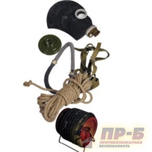 ПШ-1Б с возд. шлангом 10м. на барабане - Шланговые противогазы