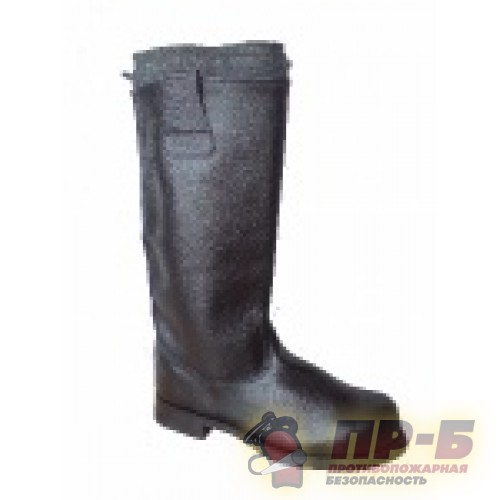 Сапоги пожарного юфтевые - Обувь защитная