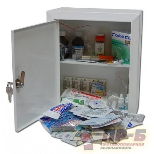 Аптечка офисная (металлический шкаф) на 30 человек - Аптечки