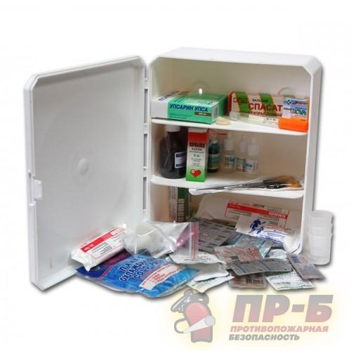 Аптечка офисная (пластиковый шкаф) на 30 человек - Аптечки