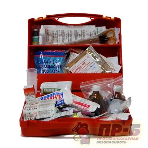 Аптечка противоожоговая (пластиковый чемодан) - Аптечки разных назначений