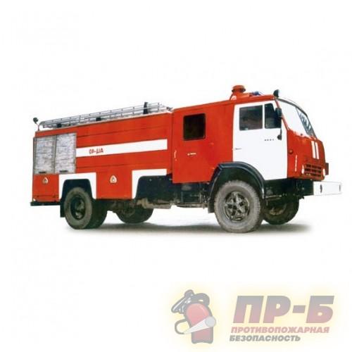 Автоцистерна пожарная АЦ 4,0-40 (КамАЗ-43114) - Пожарная техника