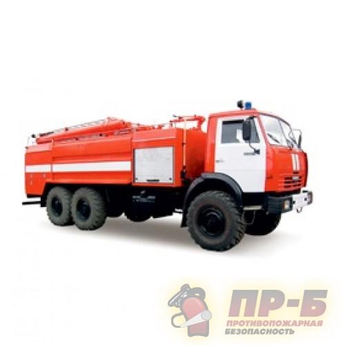 Автоцистерна пожарная АЦ 7,0-60 (КамАЗ-65115) - Пожарная техника