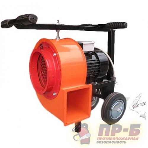 Дымосос ДПЭ-7(1ЦМ) для удаления газа, порошка и аэрозоля - Дымососы
