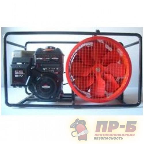 Дымосос ДПМ-7 (4ОТП) с электродвигателем - Дымососы