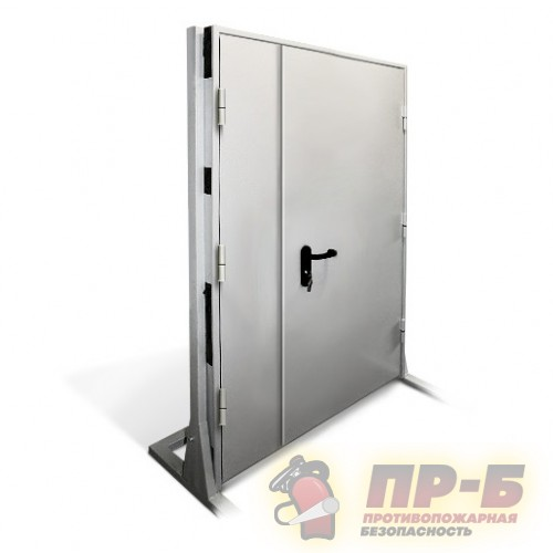 Дверь противопожарная двупольная 1200?2100 EI-30 - Двери противопожарные