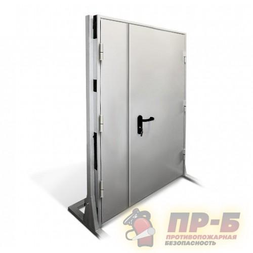 Дверь противопожарная двупольная 1200?2100 EI-60 - Двери противопожарные
