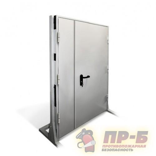 Дверь противопожарная двупольная 1600?2100 EI-60 - Двери противопожарные