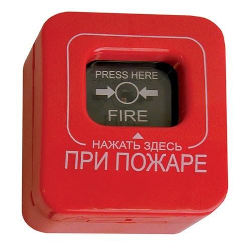 Извещатель пожарный ручной ИПР-К (ИП-5-1) с крышкой -