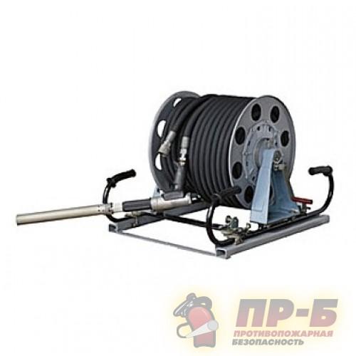 Катушка рукавная нормального давления КРНД-32/30-Р (ручной привод) - Рукавное оборудование