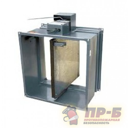 Клапан огнезадерживающий КЛОП-1 (60)-500x500 - Вентиляционные клапаны