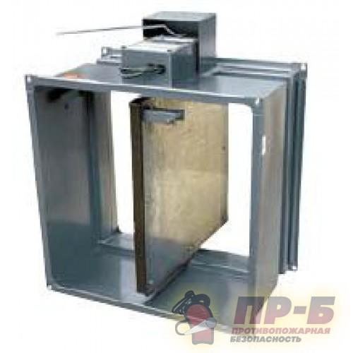 Клапан противопожарный систем вентиляции КЛОП-1 1000х500 - Вентиляционные клапаны