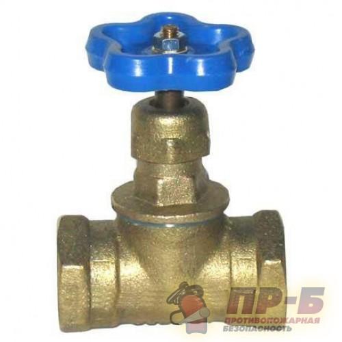 Клапан запорный муфтовый 15Б3р DN 20 Ру 1,6 МПа - Клапан пожарный прямоточный