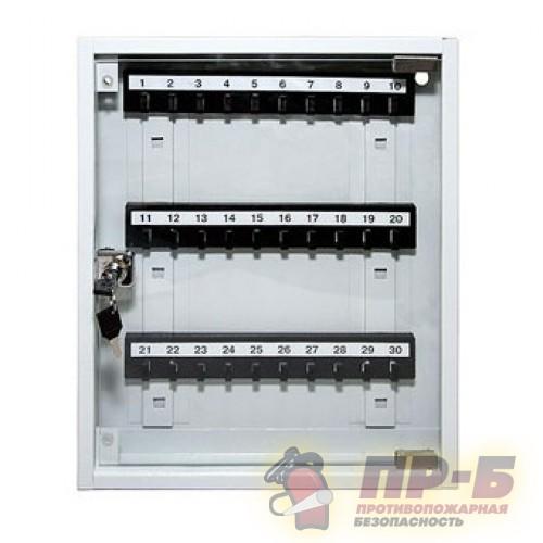 Ключница настенная КЛ-30С (стеклянная дверца) - Ключница