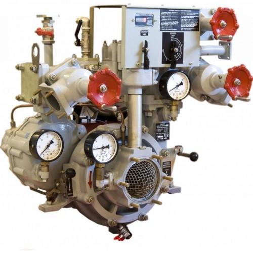Комбинированный пожарный насос НЦПК-40/100-4/400-В1Т -