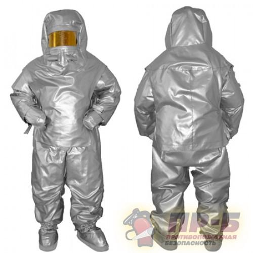 Костюм ТК-800 теплоотражательный огнеупорный - Алюминизированная одежда Ток