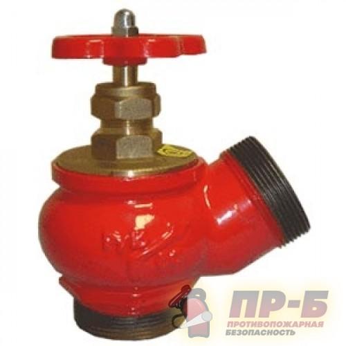 КПЧ 50-2 чугунный 125° цапка - цапка - Клапан пожарный чугунный угловой 125°