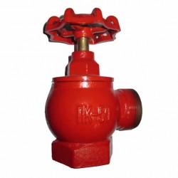 Клапан пожарный чугунный угловой 90°