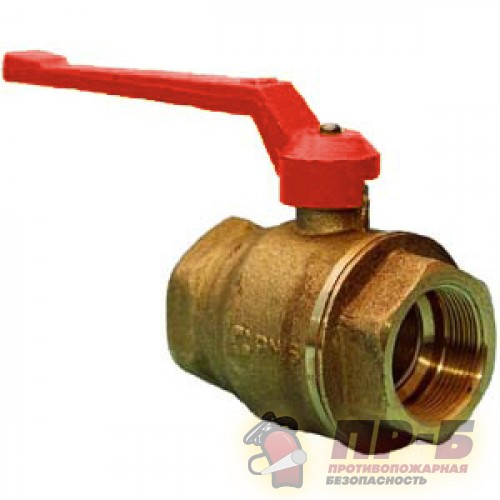Краны шаровые латунные 11Б27П1 - Клапан пожарный прямоточный