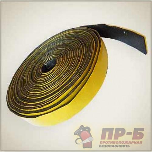 Лента уплотнительная терморасширяющаяся с самоклеящимся слоем ОГНЕЗА-ЛТУ, 2х10 - Огнезащита прочих материалов