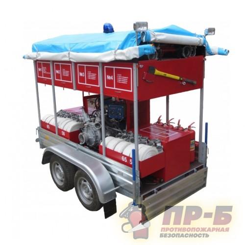 Мобильный комплекс пожаротушения - Мобильные установки пожаротушения