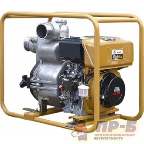 Мотопомпа Robin PTD-306Т (Для сильнозагрязненной воды) - Мотопомпы дизельные