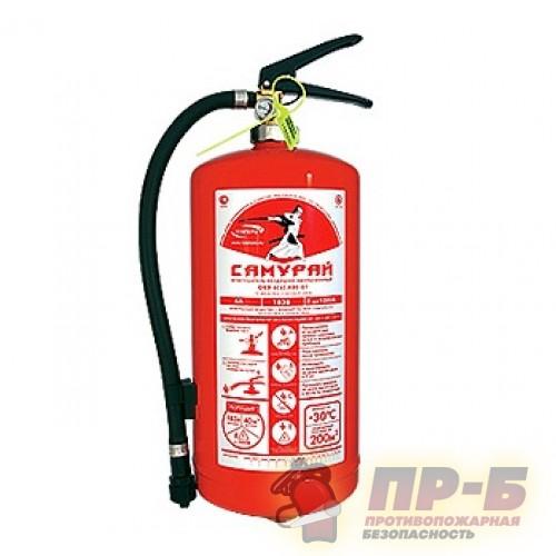 Огнетушитель ОВЭ-6 Самурай - Воздушно-эмульсионные огнетушители