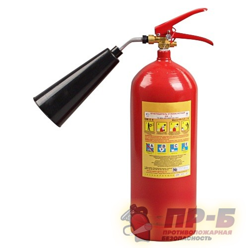 """Огнетушитель  ОУ-3 (5 литров) - Огнетушители углекислотные """"ОУ"""""""
