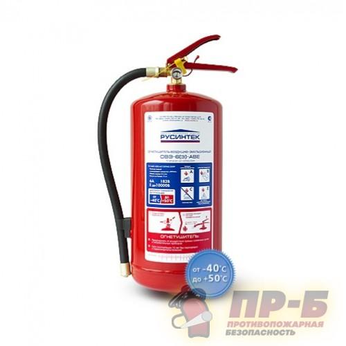 Огнетушитель воздушно-эмульсионный закачной ОВЭ-6(з)-АВЕ - Воздушно-эмульсионные огнетушители