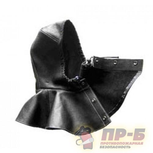 Пелерина универсальная под шлем (кожа юфтевая) - Шлемы и каски