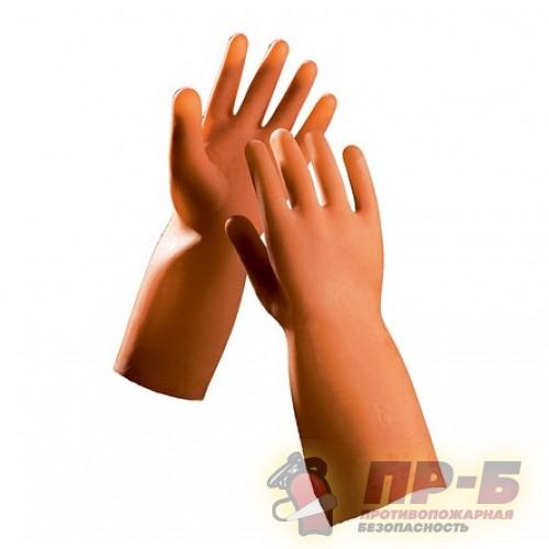 Перчатки резиновые диэлектрические бесшовные (ГОСТ 12.4.183-91) 1000В - Перчатки диэлектрические