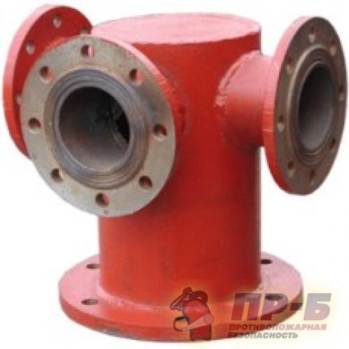 Подставка-тройник под гидрант фланцевый ППТФ (100*100) - Подставки под гидрант