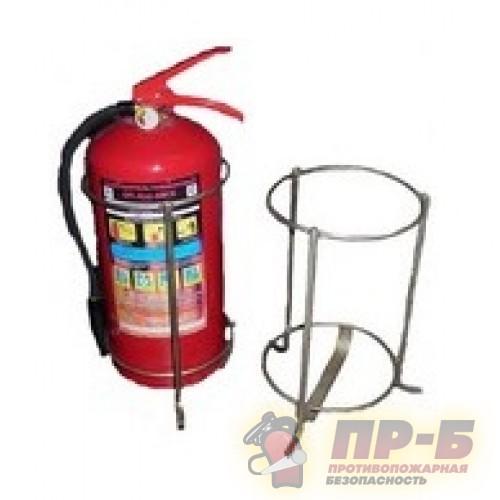 Подставка напольная под огнетушитель металлическая - Комплектующие к огнетушителям
