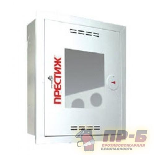Пожарный шкаф ПРЕСТИЖ-01 (310 НОБ) навесной, открытый, белый - Для пожарных кранов