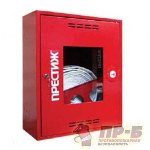 Пожарный шкаф ПРЕСТИЖ-01 (310 НОК) навесной, открытый, красный - Для пожарных кранов