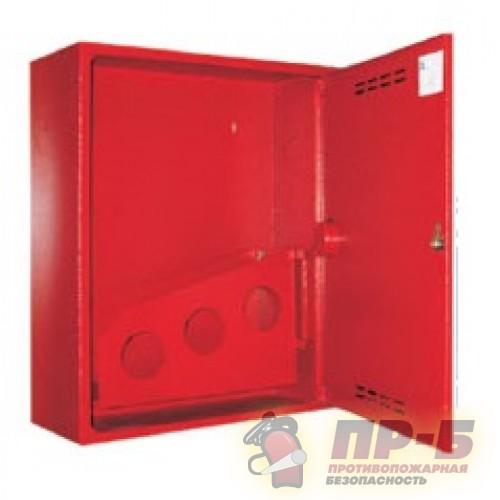 Пожарный шкаф ПРЕСТИЖ-01 (310 НЗК) навесной, закрытый, красный - Для пожарных кранов
