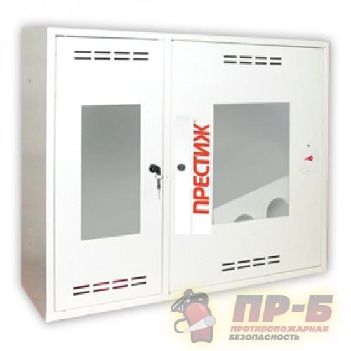 Пожарный шкаф ПРЕСТИЖ-02 (315 НОБ) навесной, открытый, белый - Для пожарных кранов