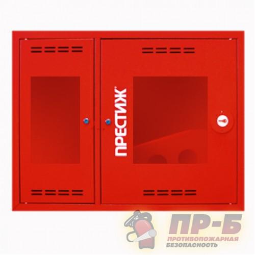 Пожарный шкаф ПРЕСТИЖ-02 (315 НОК) навесной, открытый, красный - Для пожарных кранов
