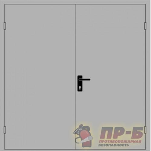 Противопожарная дверь двупольная ДПМ-02/30 (EI-30, EI-60) - Двери противопожарные
