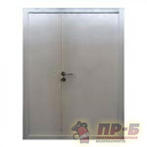 Противопожарная дверь двупольная Пульс (EI-30, EI-60) - Двери противопожарные